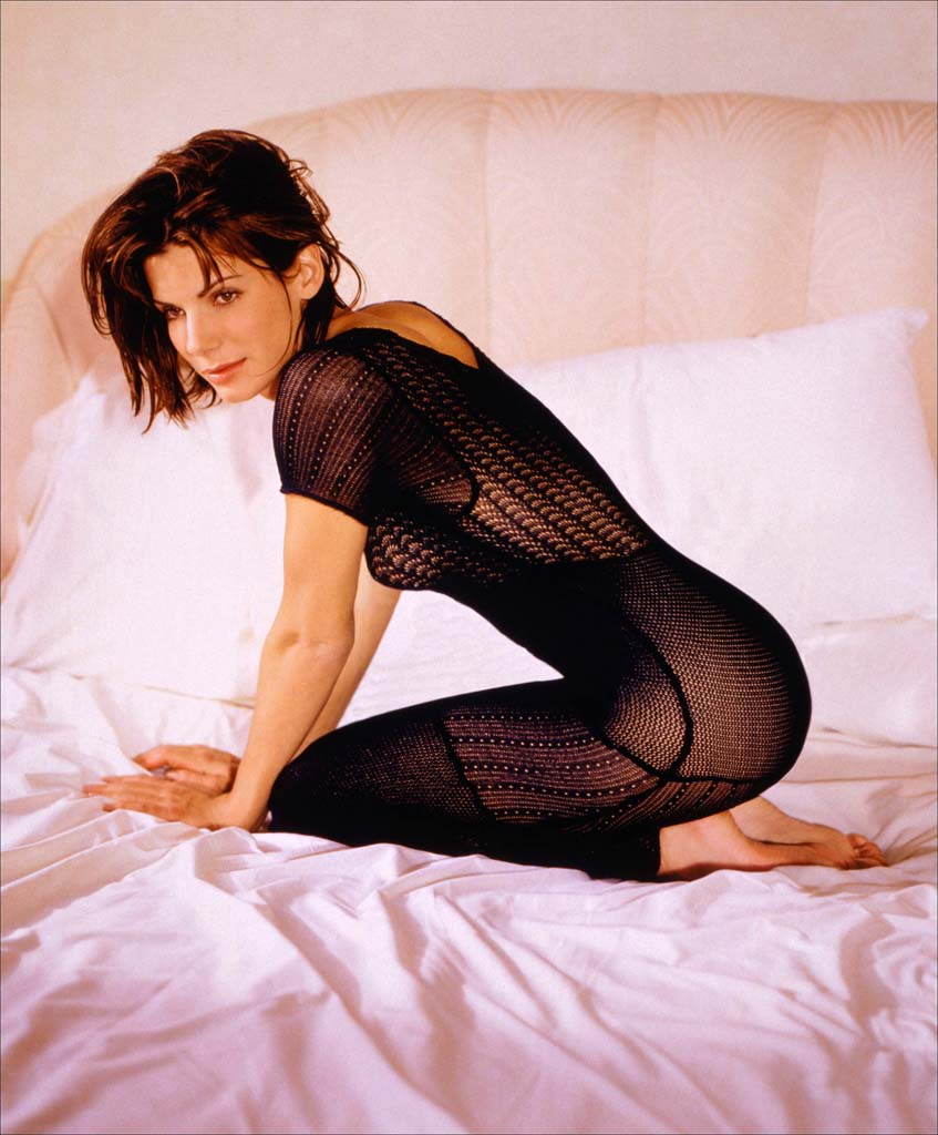 Sandra Bullock - Sexy Black Photoshoot