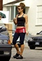 Kate Beckinsale - Tight Pants And Red Shorts Workout In LA
