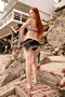 Phoebe Price - Malibu Beach Photoshoot May 2005